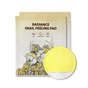 Пилинг-пад с муцином улитки SeaNtree RADIANCE SNAIL PEELING PAD (20 мл)