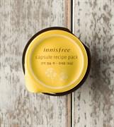 Капсульная маска для лица с экстрактом рапсового меда Innisfree Сapsule Recipe Pack Canola Honey