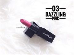 Помада для губ Матовая Berrisom G9 First Lip Stick 03. dazzling pink 3,5гр