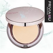 Компактная пудра Privia Clear Two Way Cake NO.13 Light Beige SPF30 PA++