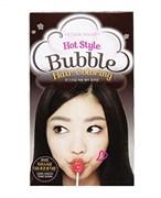 Краска для волос Etude House Hot Style Bubble Hair Coloring #BR03 Dark Choco Tone Down