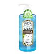 Шампунь бессиликоновый бессульфатный Moist Diane Botanical Refresh Питание 480 мл