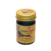 Черный тайский бальзам с ядом скорпиона Banna 50 г