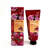 Крем для рук с розой Farmstay Pink Flower Blooming Hand Cream Pink Rose