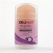 Минеральный дезодорант-кристалл Deonat с экстрактом мангостина 100г (стик, вывинчивающийся)