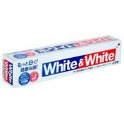 Зубная паста отбеливающая LION White&White 150г