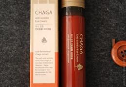Омолаживающий крем с ферментированным экстрактом древесного гриба чага THE SAEM CHAGA Anti-aging Eye Cream