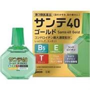 Sante 40 Gold капли для глаз с таурином, пантенолом, витамином E и хондроитином