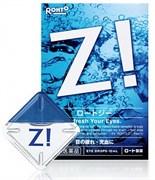 Капли с цинком и витамином B6 от сухости глаз, покраснений, зуда и усталости ROHTO Pharmaceutical Rohto Z