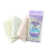 Мочалка для душа средней жесткости Shower Towel Heart 28х100 см