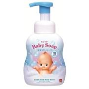 """Детская пенка """"2 в1"""" для мытья волос и тела с 1х дней жизни (Без слез) Cow Kewpie 400мл"""