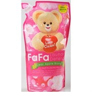Жидкое средство для стирки детской одежды Nissan FaFa Clear Apple Blossom с ароматом яблока (сменный блок) 900 мл