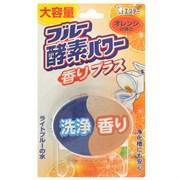 "Очищающая и ароматизирующая таблетка для бачка унитаза ST ""Blue Enzyme Power"" с ароматом апельсина 120г"