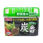 Угольный поглотитель запаха для овощной полки холодильника Kokubo Sumi-Ban 150 г