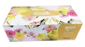 """Двухслойные салфетки для лица без аромата """"Bellagio"""", 150 шт"""