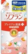 Кондиционер для белья Lion Soflan Aroma Natural с натуральным ароматом цветочного мыла 480 мл