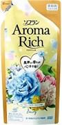 Кондиционер для белья с богатым ароматом натуральных масел Lion Soflan Aroma Rich Fairy (мягкая упаковка) 430 мл