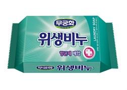 Антибактериальное, противовирусное, антигрибковое хозяйственное мыло MKH Laundry soap для стирки белья 230гр