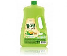 Средство для мытья посуды CJ Lion Chamgreen С ароматом зеленого чая, флакон, 2970 мл