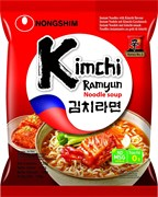 "Лапша ""Kimchi Ramyun"" со вкусом кимчи, 120гр (мягк.уп)"