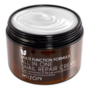 Улиточный крем XL MIZON ALL IN ONE SNAIL REPAIR CREAM 120 ml