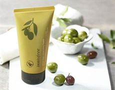 Пенка для умывания на основе оливкового масла INNISFREE OLIVE REAL CLEANSING FOAM 150ml