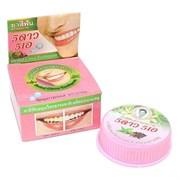 Травяная отбеливающая зубная паста с экстрактом Гвоздики 5 Stars Cosmetic Herbal Clove Toothpaste 25 г