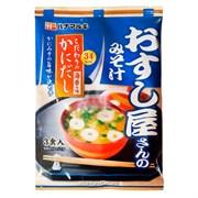 """Мисо суп быстрого приготовления """"Hanamaruki"""" со вкусом краба (3 порции), 59,1гр."""