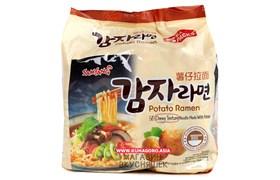 """Лапша картофельная Самянг """"Potato Ramen"""", 120гр (мягк.уп)"""