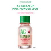 Точечное средство для борьбы с акне Etude House AC Clean Up Pink Powder Spot 15ml