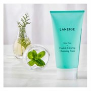 Очищающая пенка для расширенных пор Laneige Mini-Pore Double Clearing Cleansing Foam 150 мл