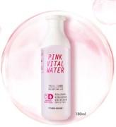 Увлажняющий тонер с розовой персиковой водой Etude House Pink Vital Water Facial Toner 180ml