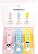 Набор из солнцезащитных кремов для ежедневного использования Village 11 Factory Sun Care Special Kit SPF 50/PA++++ 25мл x 3 шт