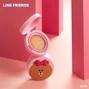 Кушон MISSHA (Line Friends Edition) Glow Tension Cushion 15g #Beige