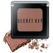 Тени для век моно Secret Key Fitting Forever Single Shadow_#Brownie (Shining Brown) 2.5 гр