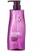 Шампунь для волос Kerasys Naturing ОБЪЕМ И ЭЛАСТИЧНОСТЬ с морскими водорослями 500мл