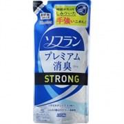 Кондиционер для белья LION Soflan Aroma Natural (усиленная формула с натуральным ароматом диких цитрусовых) 450мл м/уп