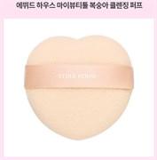 Спонж для умывания Etude House My Beauty Tool Peach Shape Face Cleansing Puff