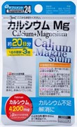 Биодобавка Кальций Магний Daiso CALCIUM+MAGNESIUM для костей, сердца, нервов и кожи (курс на 20 дней)