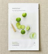 Тканевая маска с лаймом Innisfree My Real Squeeze Mask Lime