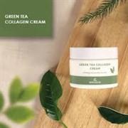 Успокаивающий крем на основе коллагена и экстракта зелёного чая THE SKIN HOUSE Green Tea Collagen Cream 50ml