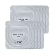 Крем антивозрастной с лифтинг-эффектом пробник THE SAEM GOLD LIFTING CREAM Sample 2мл