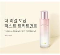 Бустерная эссенция для улучшения тона кожи AHC The Real Toning First Treatment 150ml