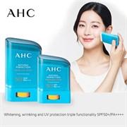 Солнцезащитный стик для лица AHC Natural Perfection Fresh Sun Stick 22g SPF50+/PA++++