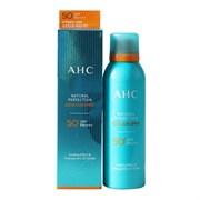 Увлажняющий охлаждающий солнцезащитный спрей AHC Natural Perfection Aqua Sun Spray SPF50+ PA++++ 180ml