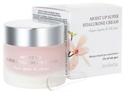 Увлажняющий крем с гиалуроновой кислотой ElishaCoy Moist Up Super Hyalurone Cream 80г