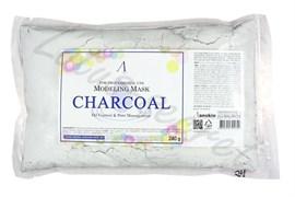 Маска альгинатная для жирной кожи с расширенными порами Anskin Charcoal Modeling mask 240g (пакет)
