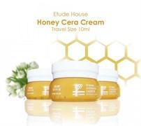 Крем питательный с экстрактом меда и керамидами Etude House Honey Cera Firming Nourishing Cream 10ml мини