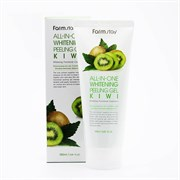 Гель-скатка с экстрактом киви Farmstay ALL IN ONE WHITENING PEELING GEL CREAM KIWI