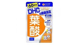 DHC Фолиевая кислота, 60 таблеток (на 60 дней приёма)